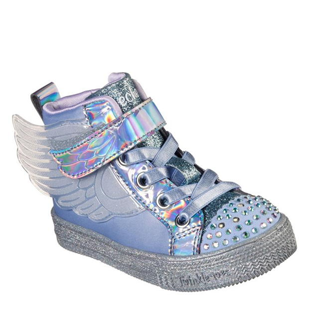 Skechers Shuffle Sparkle Infant Girls Trainers