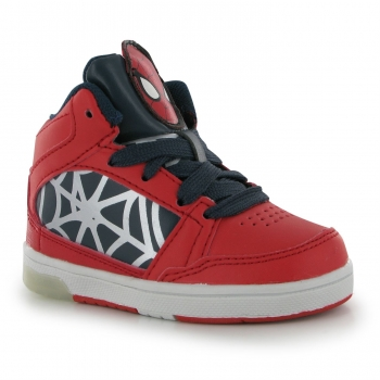 Marvel Spiderman Light Up Hi Top Infant Boys С13(32)