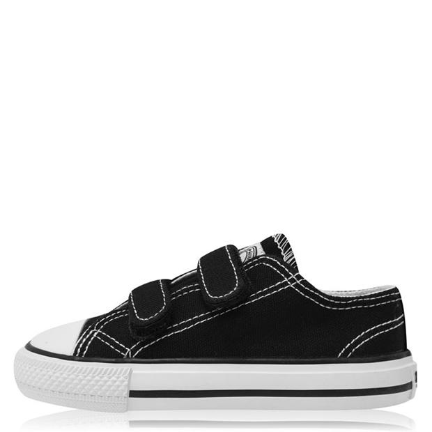 SoulCal Canvas Hook and Loop Tape Shoe Infants