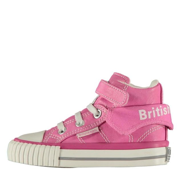 British Knights Roco PU Infants Hi Tops