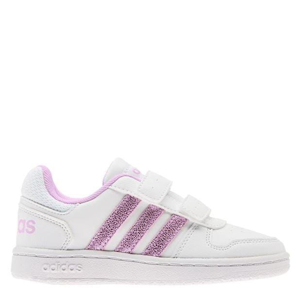 adidas Hoops Court Child Girls Trainers