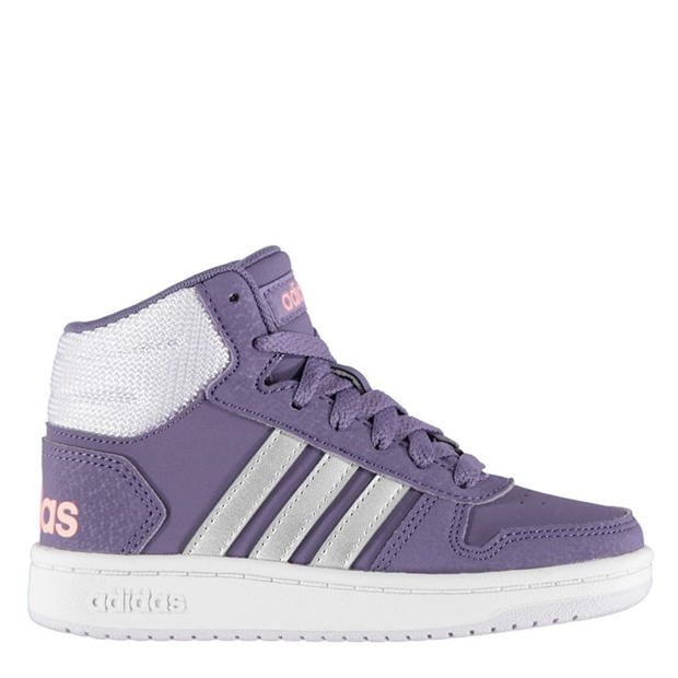adidas Hoops 2.0 Mid Trainers Girls