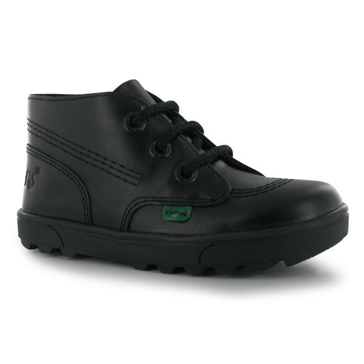 Kickers Disley Hi Childrens Shoes