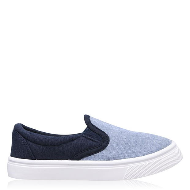 SoulCal Naha Slip On Trainers Childrens
