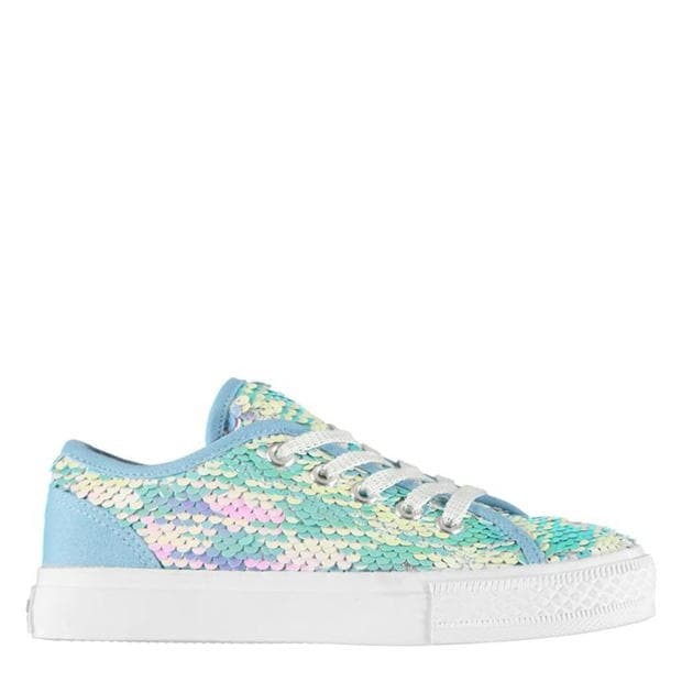 SoulCal Canvas Sequin Trainers Childrens