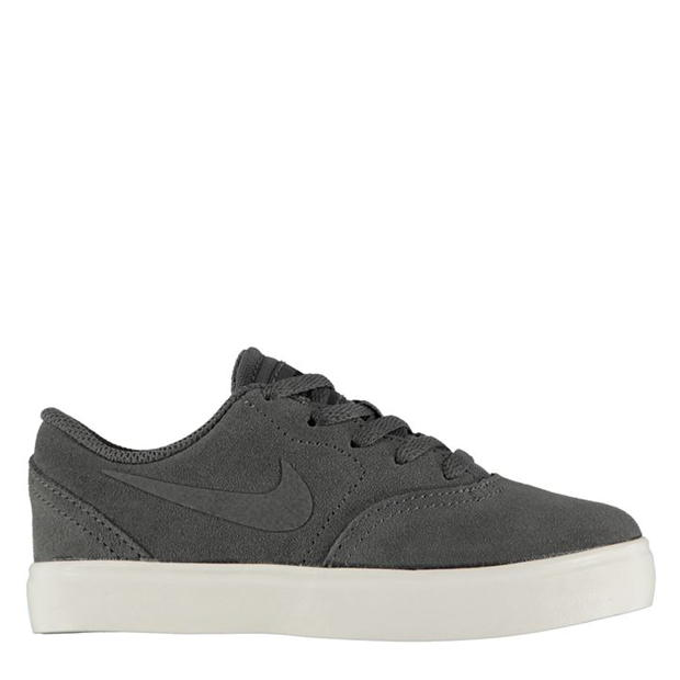 Nike SB Check Suede Trainers Junior Boys