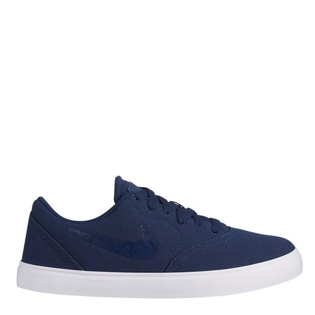 Nike SB Check Canvas Junior Skate Shoes