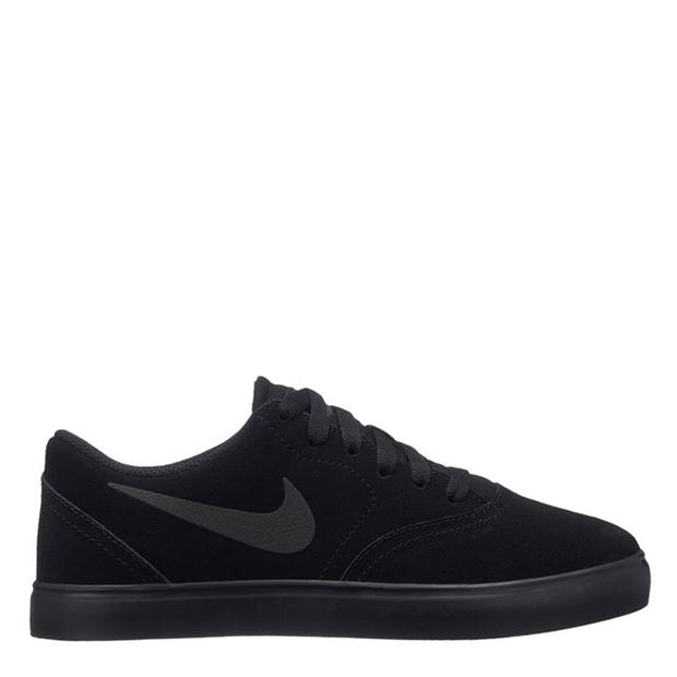 Nike SB Check Suede Junior Boys Skate Shoes