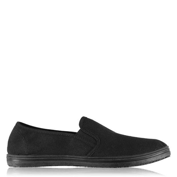 Slazenger Slip On Junior Canvas Shoes