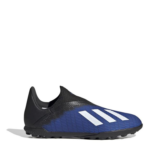 adidas X 19.3 Childrens Laceless Astro Turf Trainers