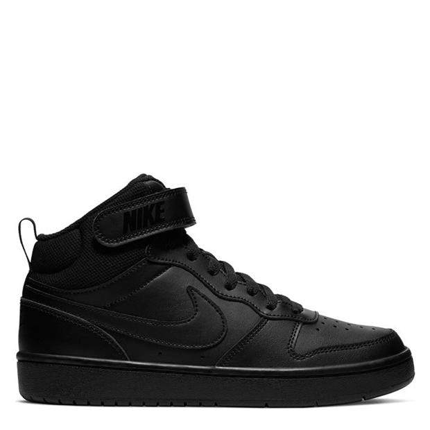 Nike Court Borough Mid Top Junior Boys Trainers