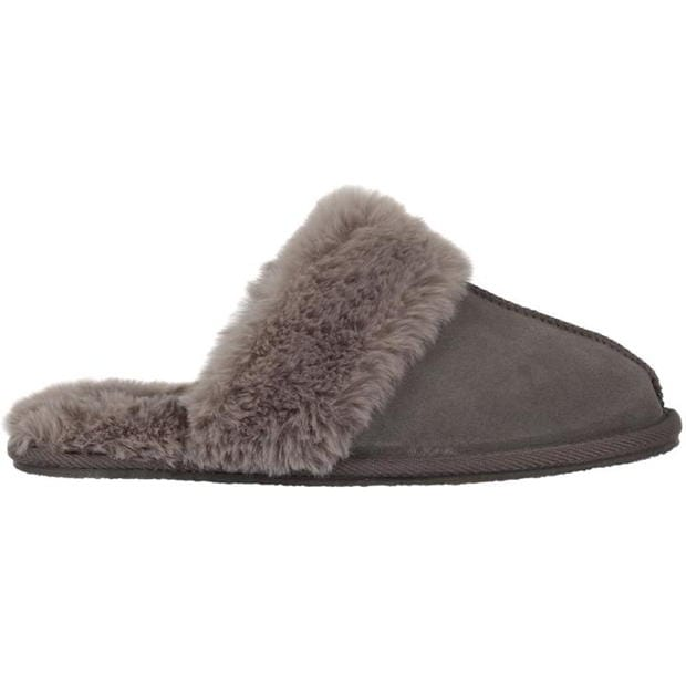 Linea Linea Suede Mule Slippers