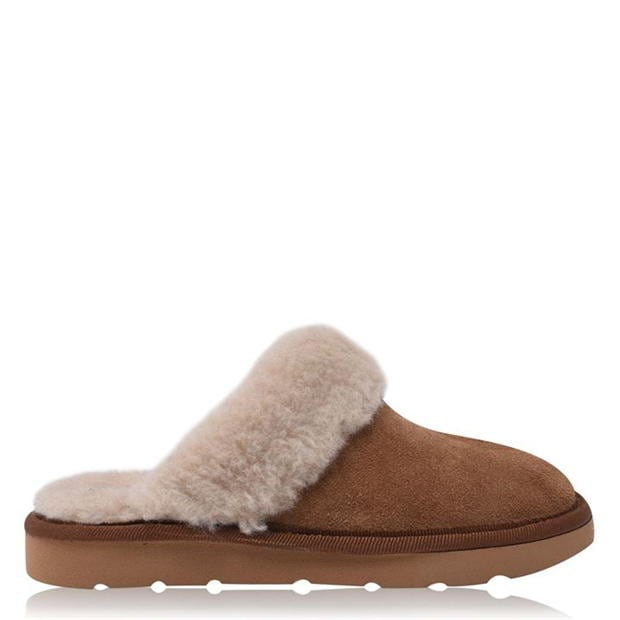 SoulCal Childrens Faux Fur Lined Slippers