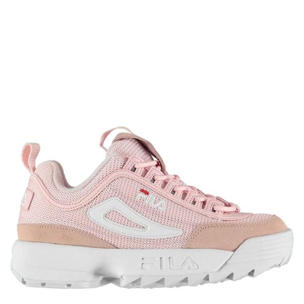 Fila Disruptor Mesh Low Ladies Trainers