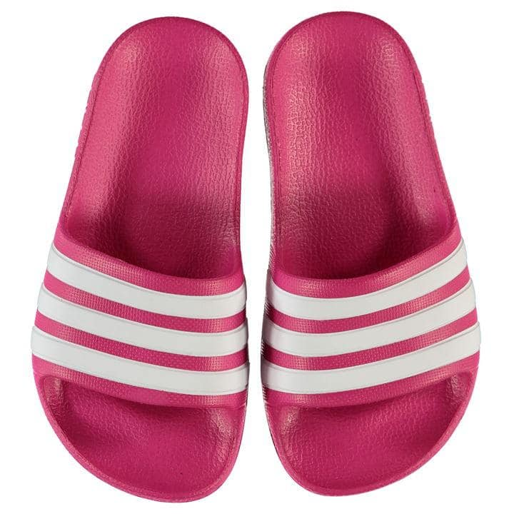 adidas Duramo Slide Child Girls Pool Shoes