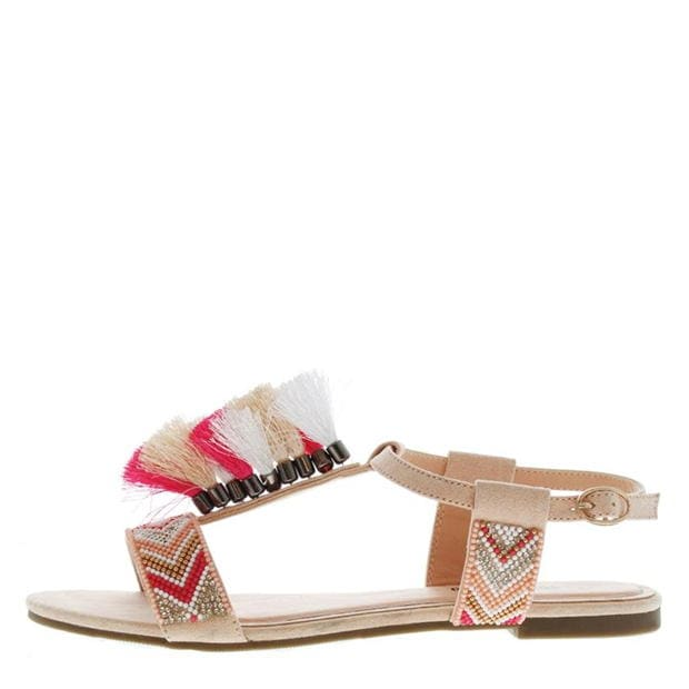 SoulCal Tassle Ladies Sandals