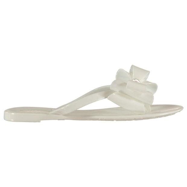 Miso Womens Jelly Bow Sandals