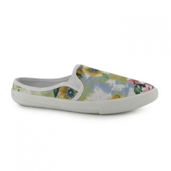 Lee Cooper Slip On Textile Ladies Shoes 7(41))
