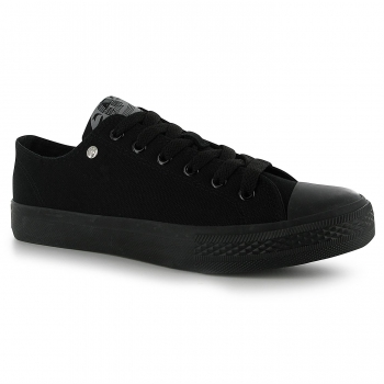 Dunlop Mens Canvas Low Top Trainers 9.5 (43.5)