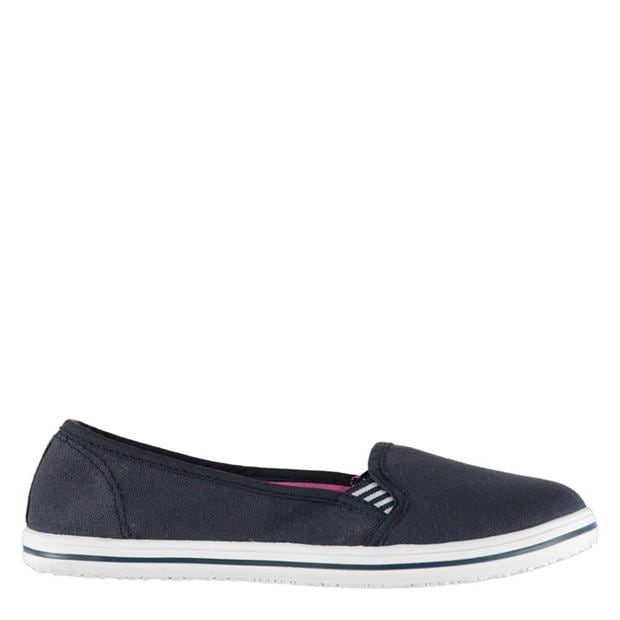Slazenger Ladies Canvas Slip On Shoes