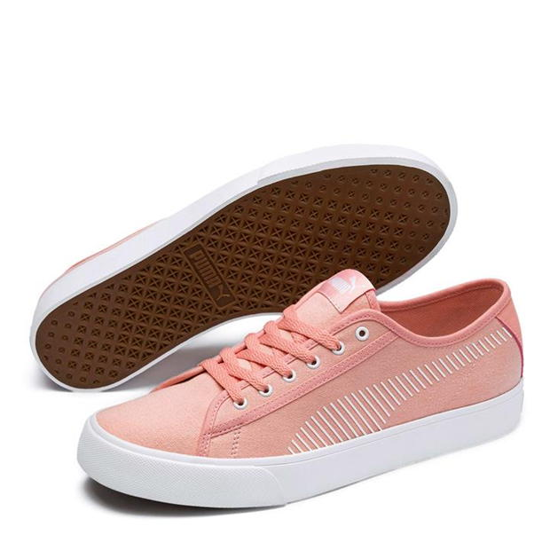 Puma Bari Canvas Trainers Ladies