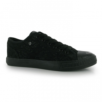 Dunlop Canvas Low Ladies Trainers 4 (37)