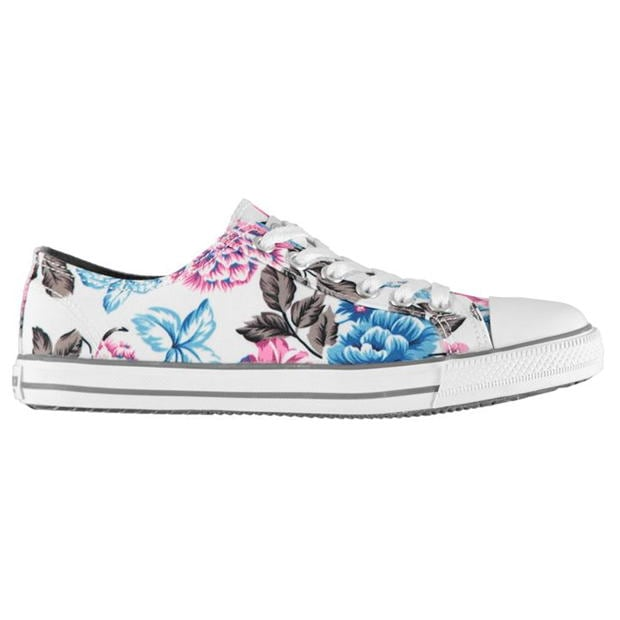 SoulCal Canvas Low Profile Womens Trainers