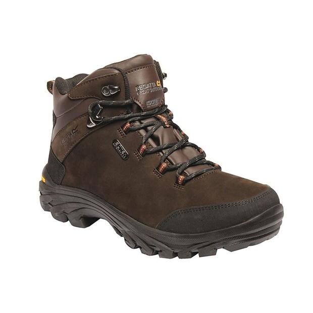 Regatta Burrell Leather Waterproof & Breathable Walking Bo