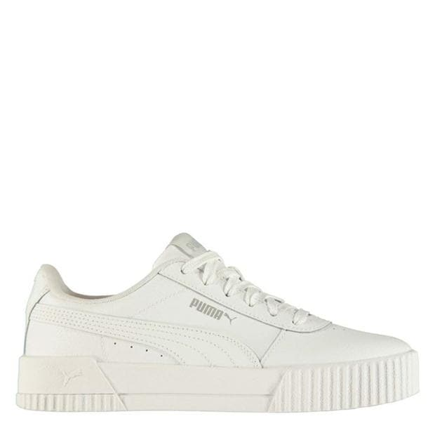 Puma Carina Leather Trainers Ladies