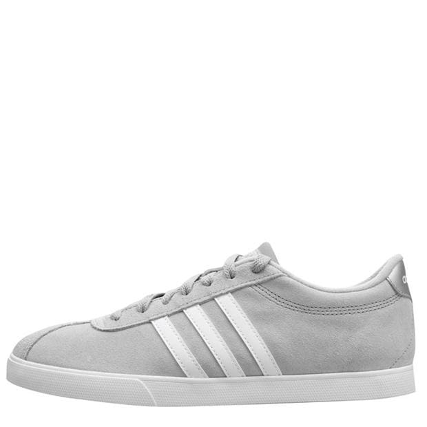 adidas Court Set Suede Trainers Ladies