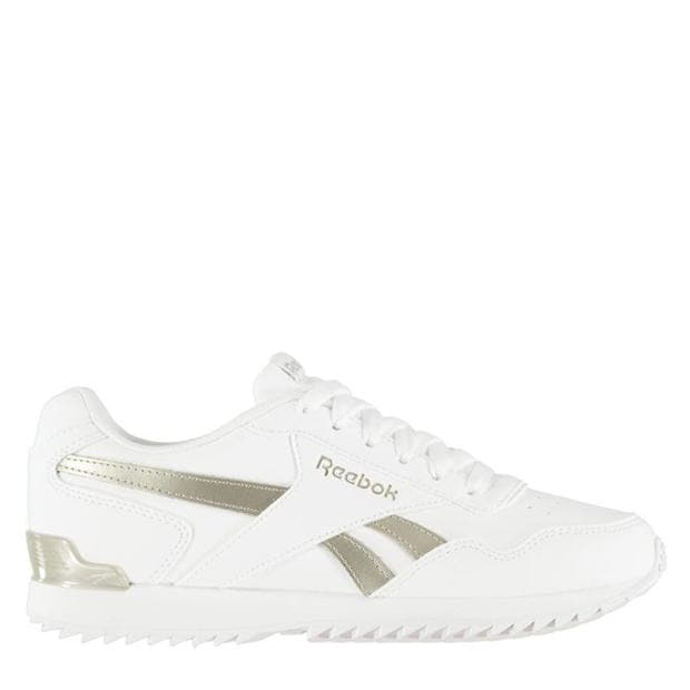 Reebok Royal Glide Ripple Clip Trainers Ladies