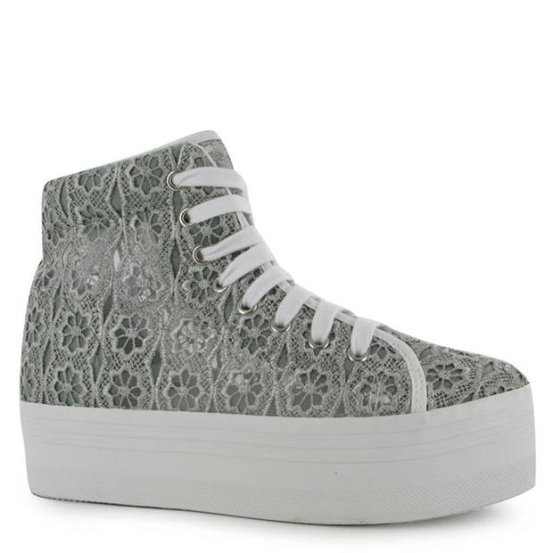 Jeffrey Campbell Play Homg Lace Platform Shoes