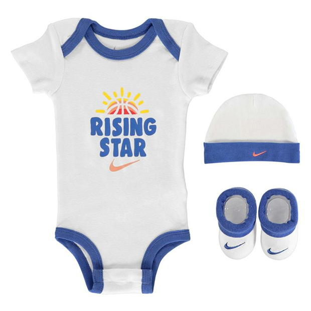 Nike Rising Star Hat/Bodysuit/Boots 3 Pack Babies