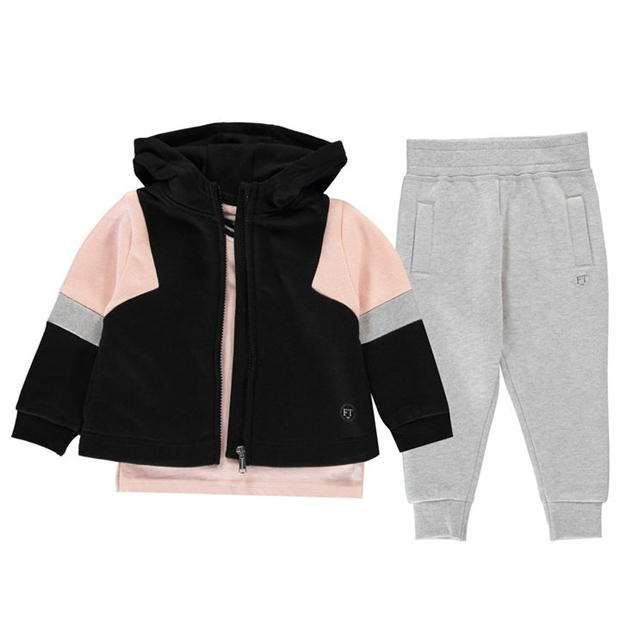 Firetrap 3 Piece Jogger Set Baby Girls