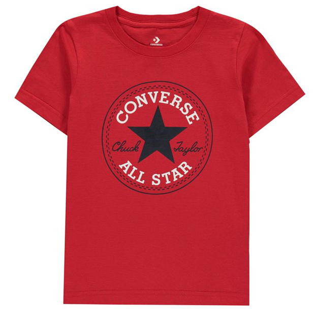 Converse Chuck Short Sleeve T-Shirt Infant Boys