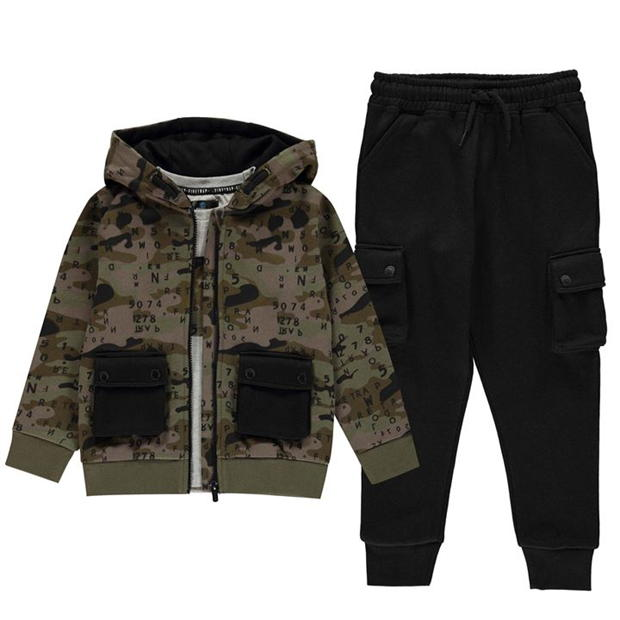Firetrap 3 Piece Jogging Set Infant Boys