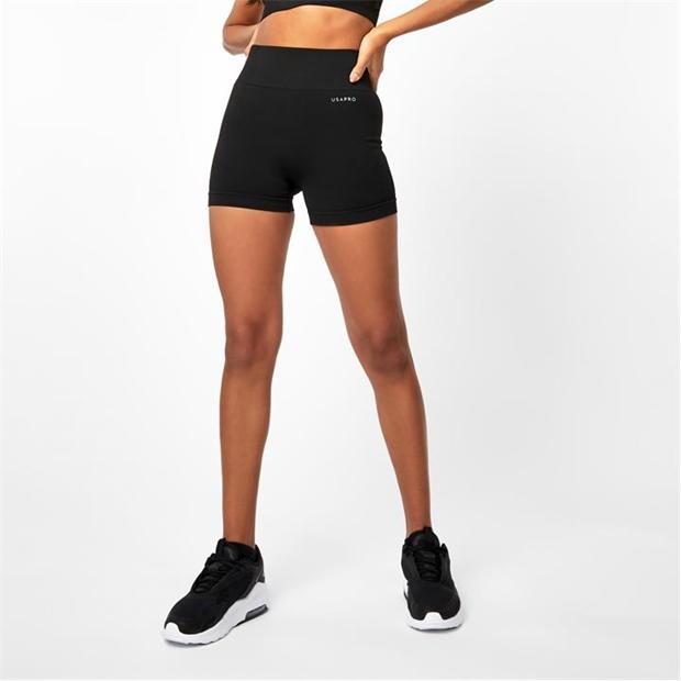 USA Pro Seamless 3 Inch Shorts