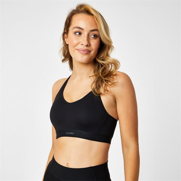 USA Pro High Impact Sports Bra Ladies