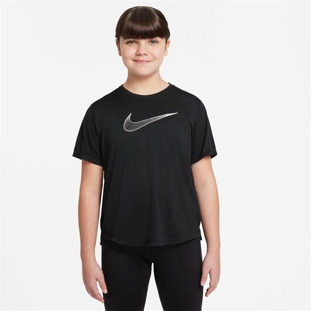 Nike One Dri Fit T Shirt Junior Girls