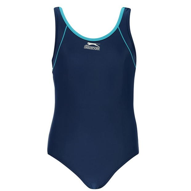 Slazenger Basic Swimming Suit Junior Girls