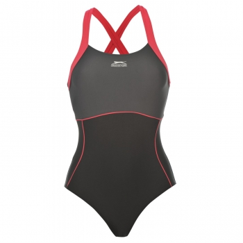 Slazenger X Back Swim Suit Ladies 18 (XXL)