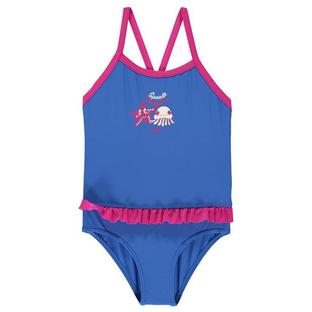 Speedo Frill Swimsuit Infant Girls