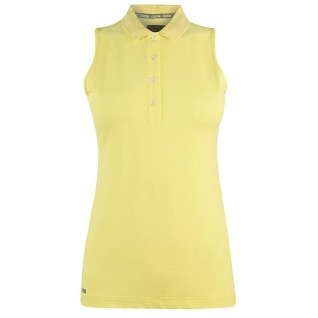 Colmar Donna Sleeveless Polo Shirt Ladies