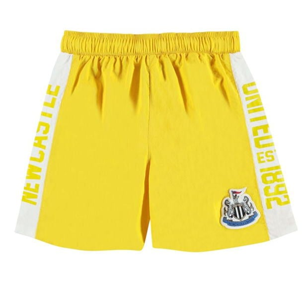 NUFC Newcastle United Swim Shorts Infant Boys