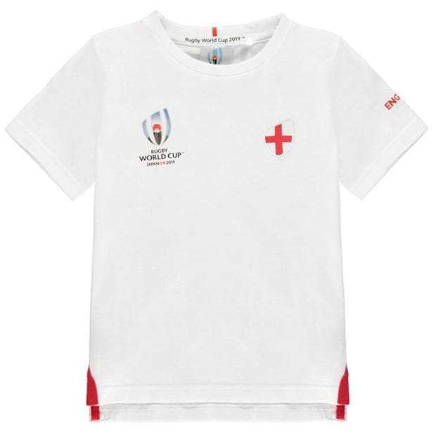 Team Rugby Rugby World Cup 2019 Team Cotton T Shirt Junior Boys