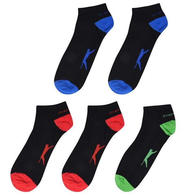 Slazenger 5 Pack Trainer Socks Mens