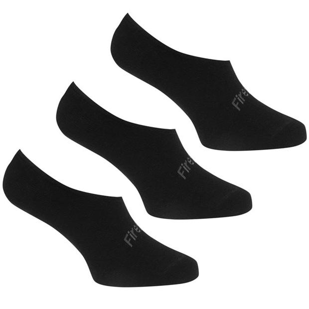 Firetrap 3 Pack Invisible Socks Mens