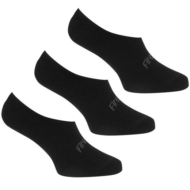 Firetrap 3 Pack Invisible Socks Ladies