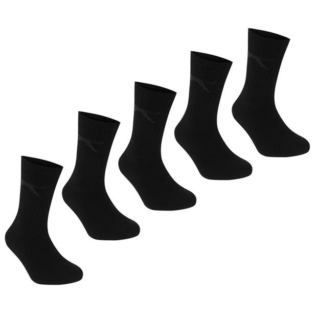 Slazenger Crew Socks 5 Pack Childs