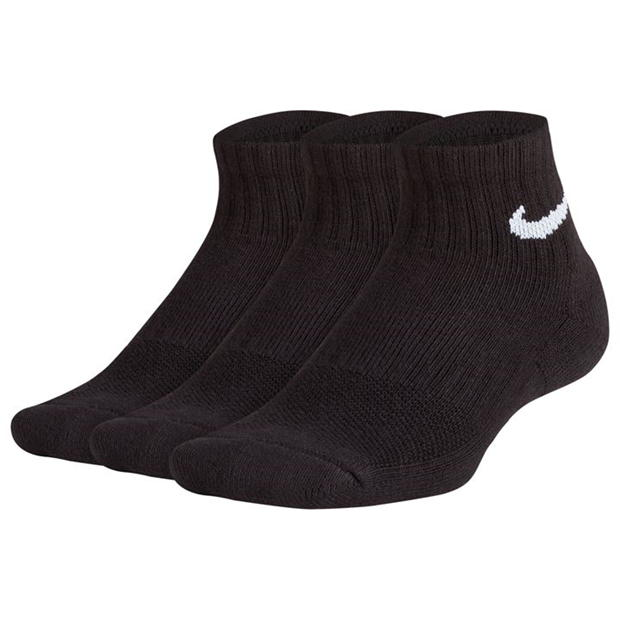 Nike Performance Cushion Quarter Socks Junior